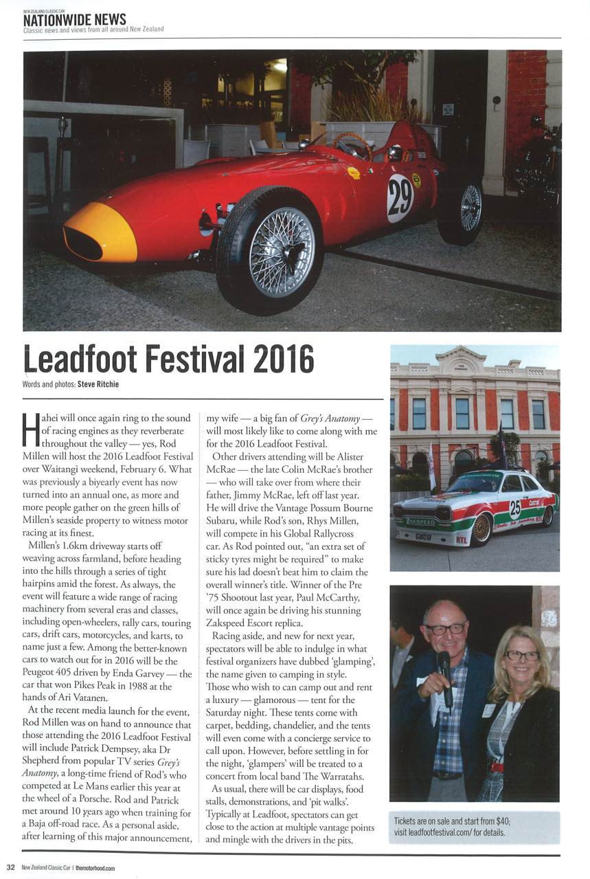 Leadfoot Launch