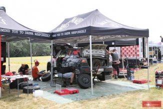 Rally of New Zealand 2017 - Service Park