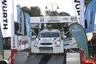Rally of Whangarei 2017 - Ceremonial Finish